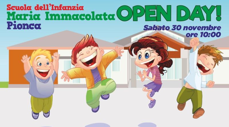 Scuola dell'Infanzia – OPEN DAY!